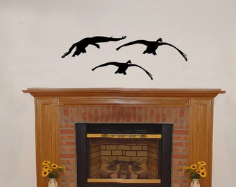 Wall Decal Geese 3 Vinyl Wall Decal 22229