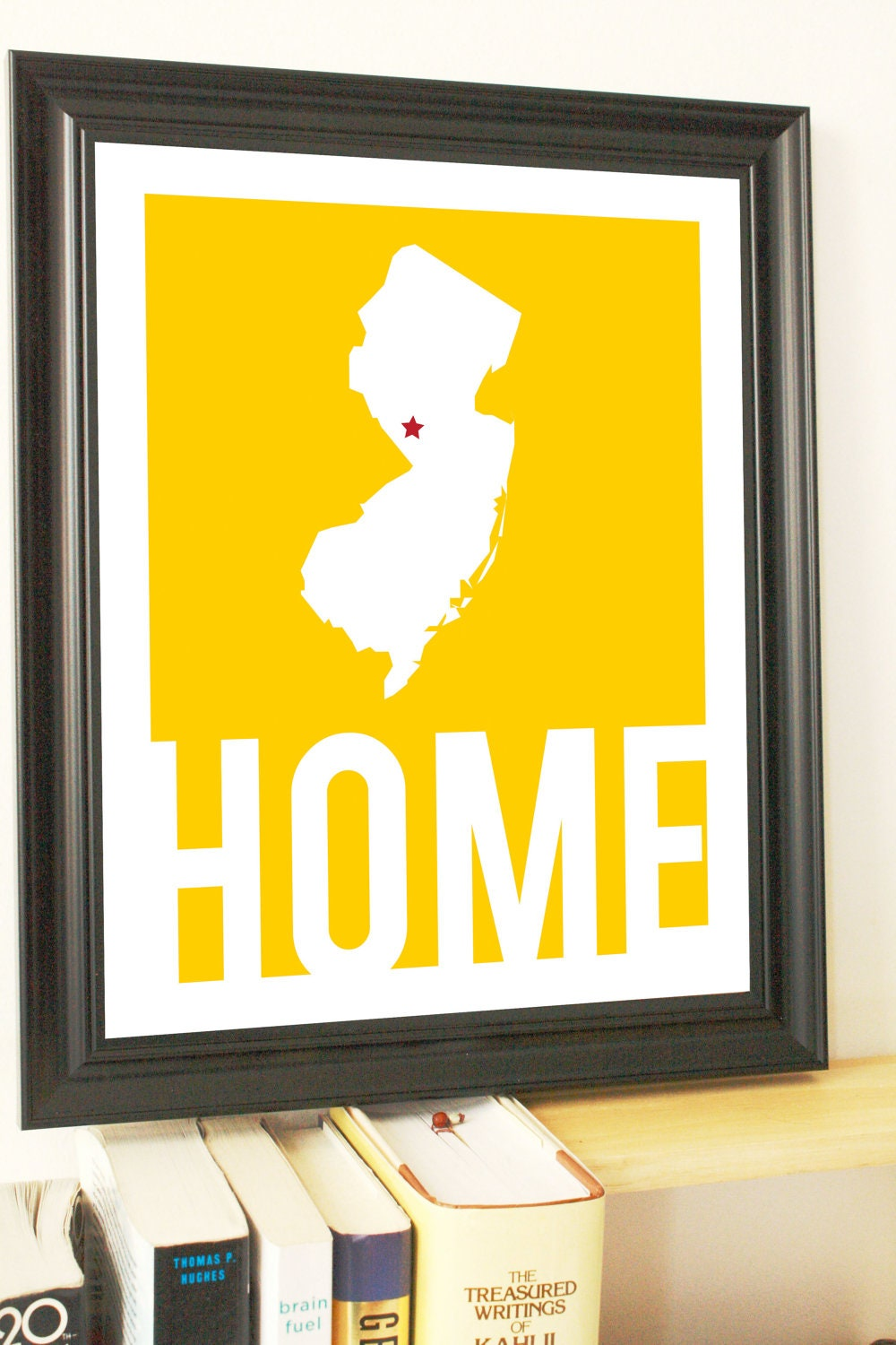 State Art State Gifts New Jersey Art New Jersey Map