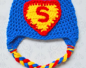 infant superman hat