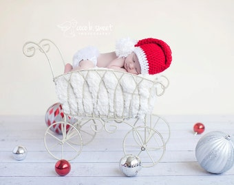 toddler crochet santa Hat