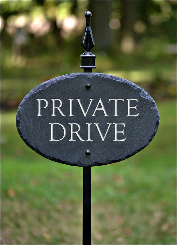 Private Property Sign Driveway