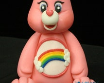 Care Bear Cake Topper (Cheer Bear) - il_214x170.377920587_mkj3