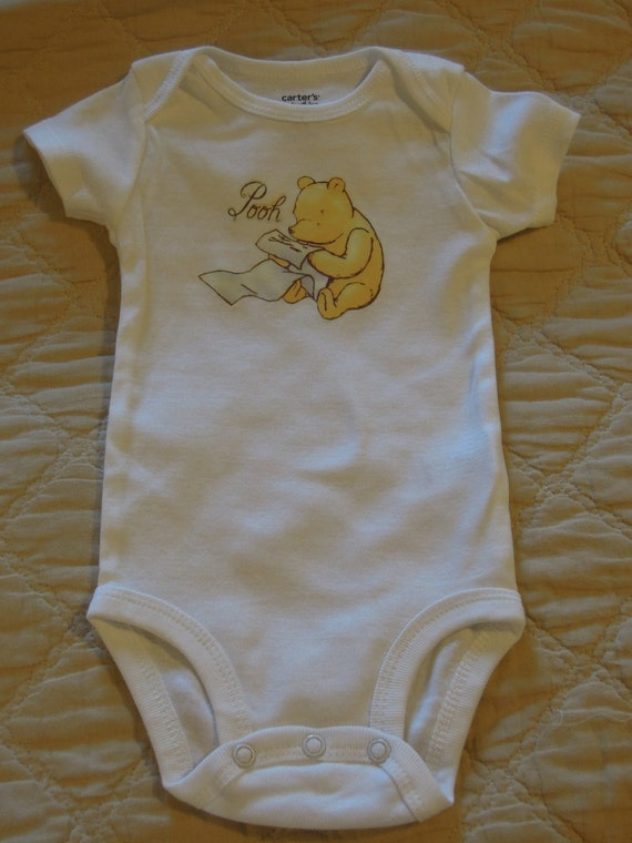 Items similar to Classic Winnie the Pooh One-Piece ...
