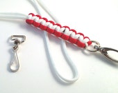 Paracord  Lanyard with Gate Hook or Eye Swivel Hook