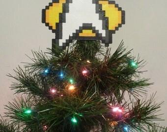 Star Trek Perler Bead Christmas Tree Topper