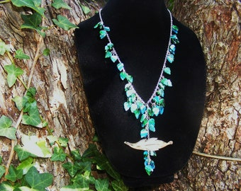 Falling Leaves Fashion Necklace