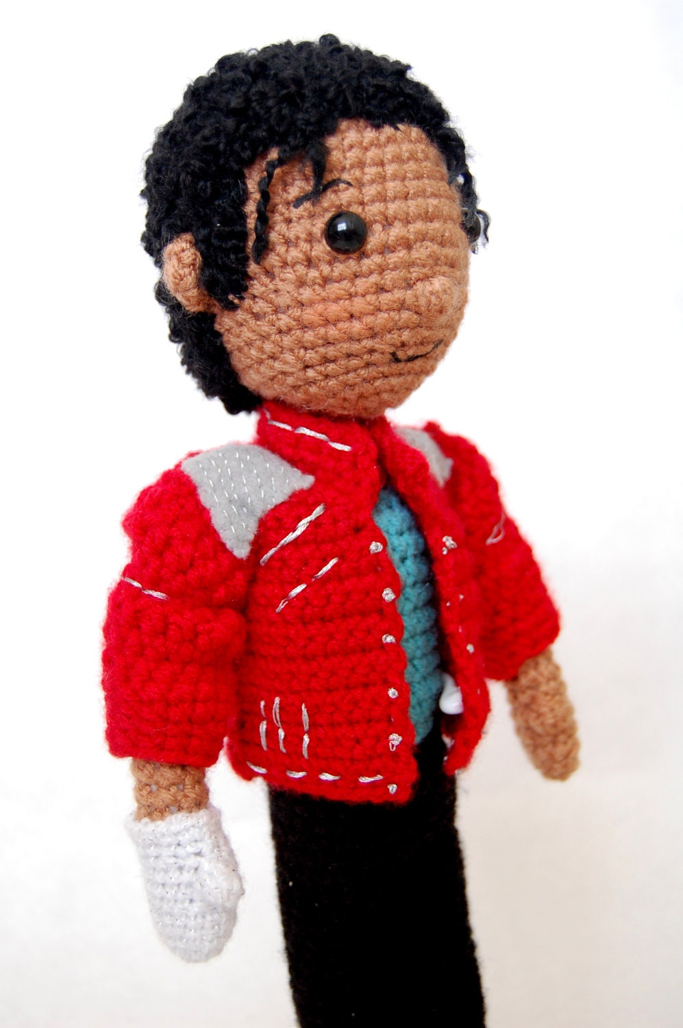 Amigurumi Eyes Michaels : Michael Jackson Amigurumi Crochet doll Pattern MJ Tribute