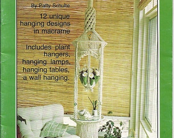 Macrame Fever  Macrame Pattern Book 7203