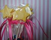 Pinkalicious Chocolate  Lollipop Wands