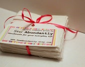 Sentiment Quilt Kit Alternative to Guest Books Signature Quilt for Baby Showers Graduations Retirements or Weddings