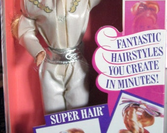 Vintage Super Hair Barbie Doll MIB NRFB Mattel 1986