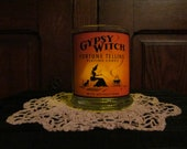Gypsy Witch Fortune Teller Candleholder: tarot, seer, decor, whitchery, altar, apothecary, vintage, witchy, ritual, fortune