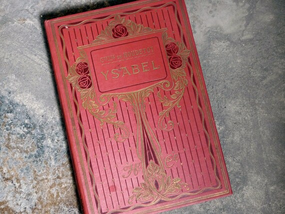 Custom Guestbook Wedding Album, Personalized Vintage French Book for Wedding, Upcycled Antique