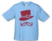 Mustache and Top Hat Big Bro T-Shirt - Big Brother Shirt - (BTT BUT 5022)