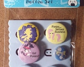 MLP: Ponies with Attitude Button Set