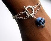 Laughing Buddha Wrap Bracelet, Custom Jewellery