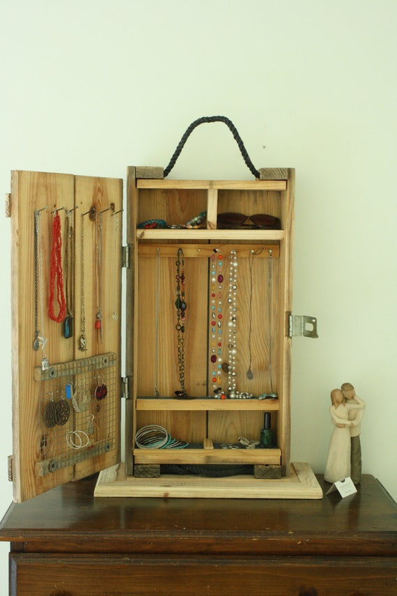 Unavailable listing on etsy for Repurposed jewelry holder