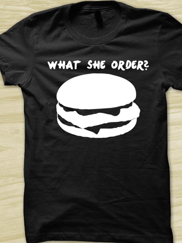 What she order fish fillet rap t shirt hip hop music shirt all for What she order fish fillet