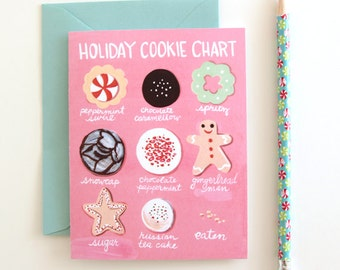 Holiday Cookie Cards - Set of 8