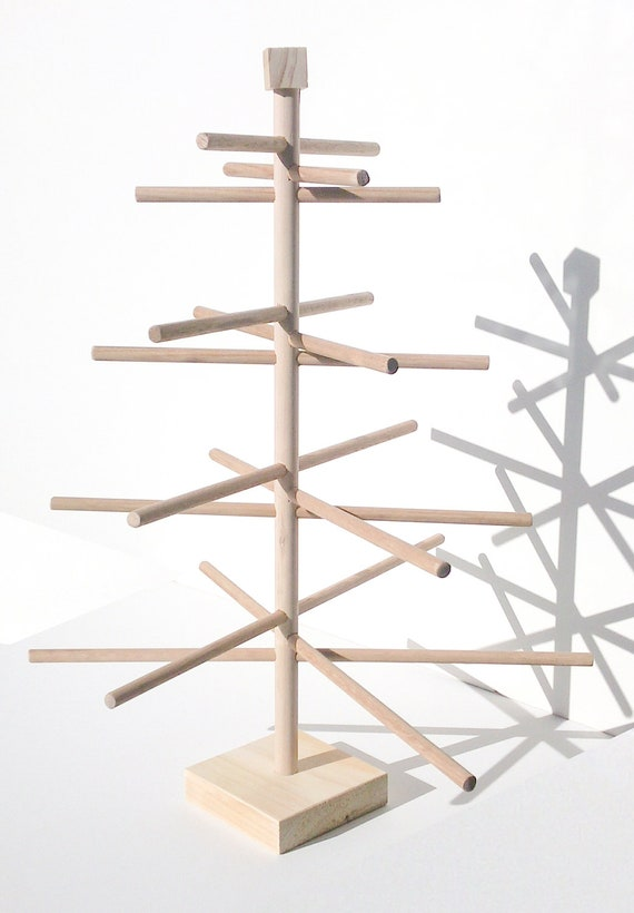 Advent Calendar Timber - Christmas Gift Tree -  Handmade NQR Prototype