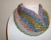 Colorful Warm And Cozy Cowl- Neckwarmer