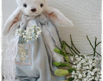 PDF Instant Download - Pattern / E-Book Bunny HOPPER :) - 8 Inch - by Eileen Seifert - Teddy-Manufaktur.de