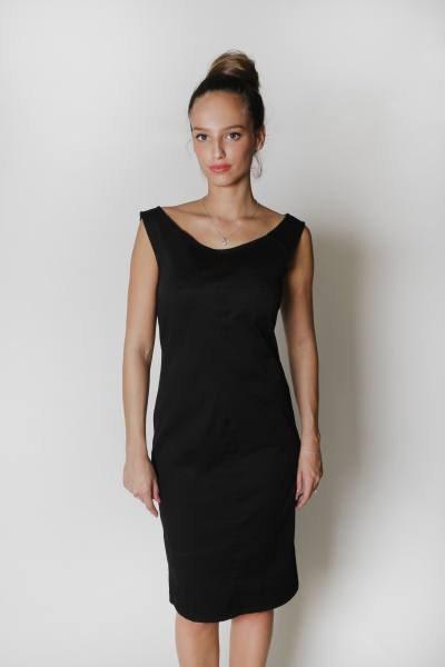Simple 247 Comfort Apparel Women39s Classic Little Black Dress  Free