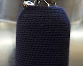 Classic 64 oz Beer Growler Cozy in Black Cat Wool