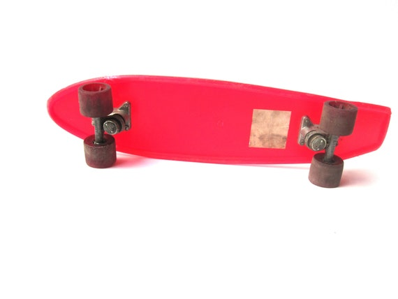 1970s Toys For Boys : Vintage skateboard toy s huffy thunderboard red
