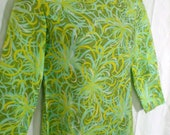 On Sale TWIGGY  Vintage Mini Mod Psychadellic Dress