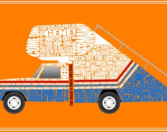 "Arrested Development Stair Car Quotes 11"" x 17"" Print"