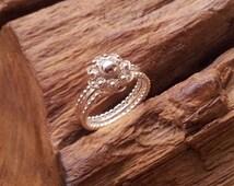 Traditional Dutch Zeeuwse knoop ring classic - sterling silver 925, the netherlands, holland, zeeland, zeeuws
