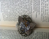 Steampunk Butterfly ring