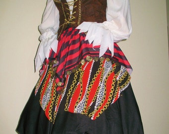 Renaissance Pirate Wench Costumes