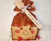 20 Sandwich Bags - Bakery plastic bag - cake bags  - bread bags