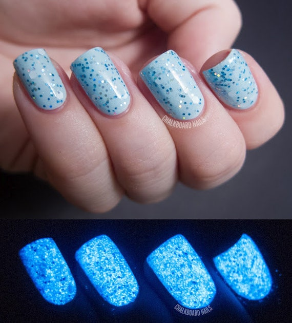 Light It Up Blue Nail Polish 15ml .5oz