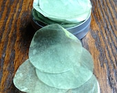Spearmint Eucalyptus Traveler's Soap Petals | Single Use Soap, Biodegradable, Eco-friendly Glycerin Soap Leaves