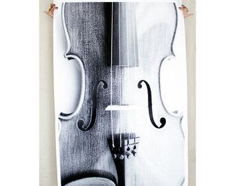Large Wall Art Violin Poster Photography Print