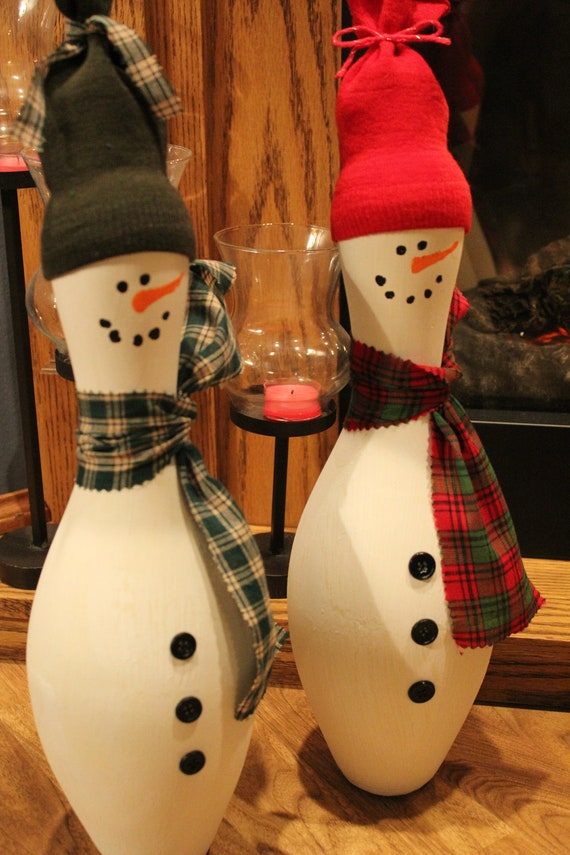Painted Bowling Pin Crafts