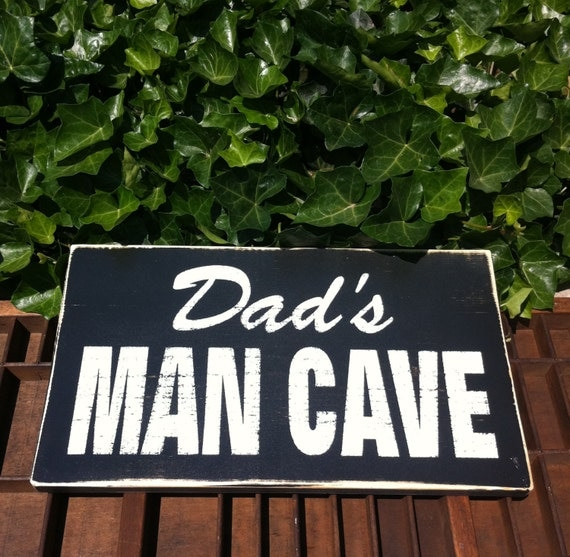 Man Cave Birthday Ideas : Dad s man cave sign birthday gifts for men father day