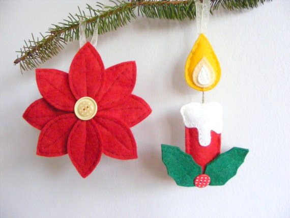 Items similar to pdf pattern set of two christmas tree for Christmas candles and ornaments