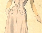 UNCUT  Advance Pattern 5255 Dress Vintage size 16 FREE SHIPPING