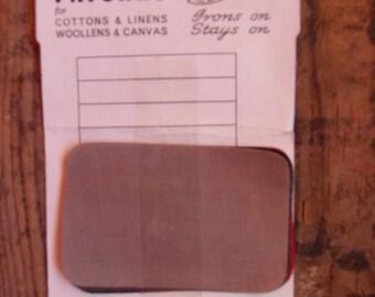 Vintage mending patches