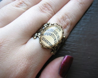 Antique Ouija Board Ring