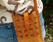 iPhone 4S Leather Case, Crossbody w Card Pocket