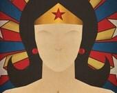 Minimal Heroes: Wonder Woman