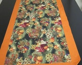 "Quilted Pumpkin Table Runner 14"" X 42"""