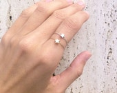 Star Wire Ring Wire Wrapped Star Ring In Gold or Silver, Sterling Silver & Gold Filled