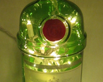 Tanguery Gin Lighted Bottle