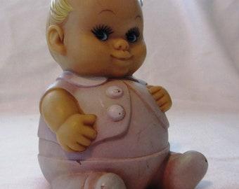 Vintage purple doll